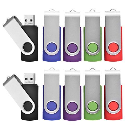 Flash Drive 8GB Bulk, Pen Drive AreTop USB2.0 Flash Drive Me