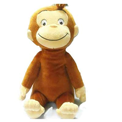"Night Saying 12"" /30 cm Curious George Monkey Soft Doll Child Stuffed Plush Toy Kids Gift (Unclothed): Toys & Games"