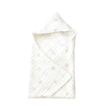 WYQ Toallas con Capucha para niños pequeños Unisex Toallas de baño de algodón Suave para bebés