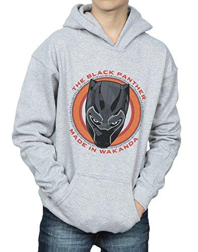 Made Capuche Sweat Garçon Red Marvel Panther Black Wakanda Gris In Sport À 0tn70wqz