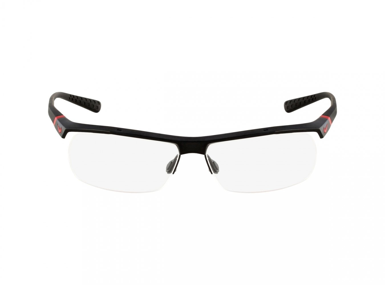 Nike Eyeglasses 7071/2 002 Gloss Black Demo 57 14 135 by NIKE