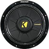 Kicker - CompD 600 Watt 10'' Dual Voice Coil 4 Ohm Subwoofer