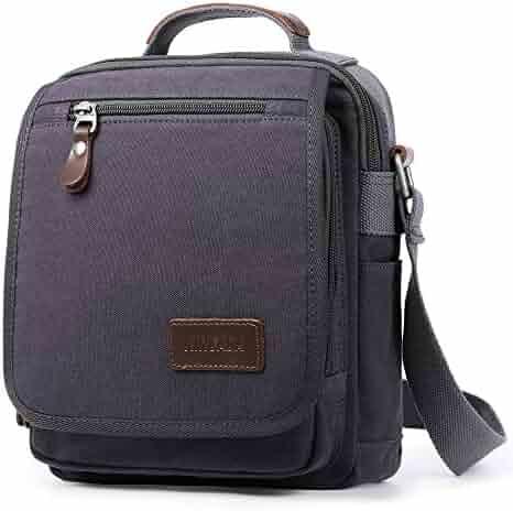 d24e1b79c2 XINCADA Mens Bag Messenger Bag Canvas Shoulder Bags Travel Bag Man Purse  Crossbody Bags for Work