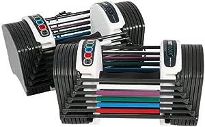 PowerBlock Sport 24 Adjustable Dumbbell, 24 lbs (Pack of 2)