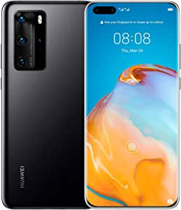 "HUAWEI P40 Pro Smartphone 5G, 6.58"" Display, 8 GB RAM, 256 GB Memory, Dual SIM - Black"