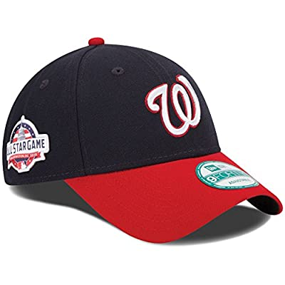 Washington Nationals New Era All-Star Game Alternate The League 9FORTY Adjustable Hat Navy/Red