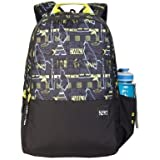 Wildcraft 29 Ltrs Black_Ylw Casual Backpack (11651-Black_Ylw)