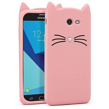 Amazon.com: Carcasa de silicona para Samsung Galaxy J7 2017 ...