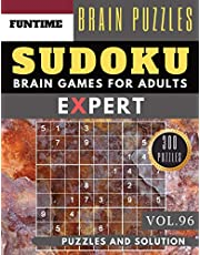 Expert SUDOKU: 300 SUDOKU extremely hard puzzle books | sudoku hard to extreme difficulty Maths Book Puzzles and Solutions times for Adult and Senior (hard sudoku puzzle books Vol.96)