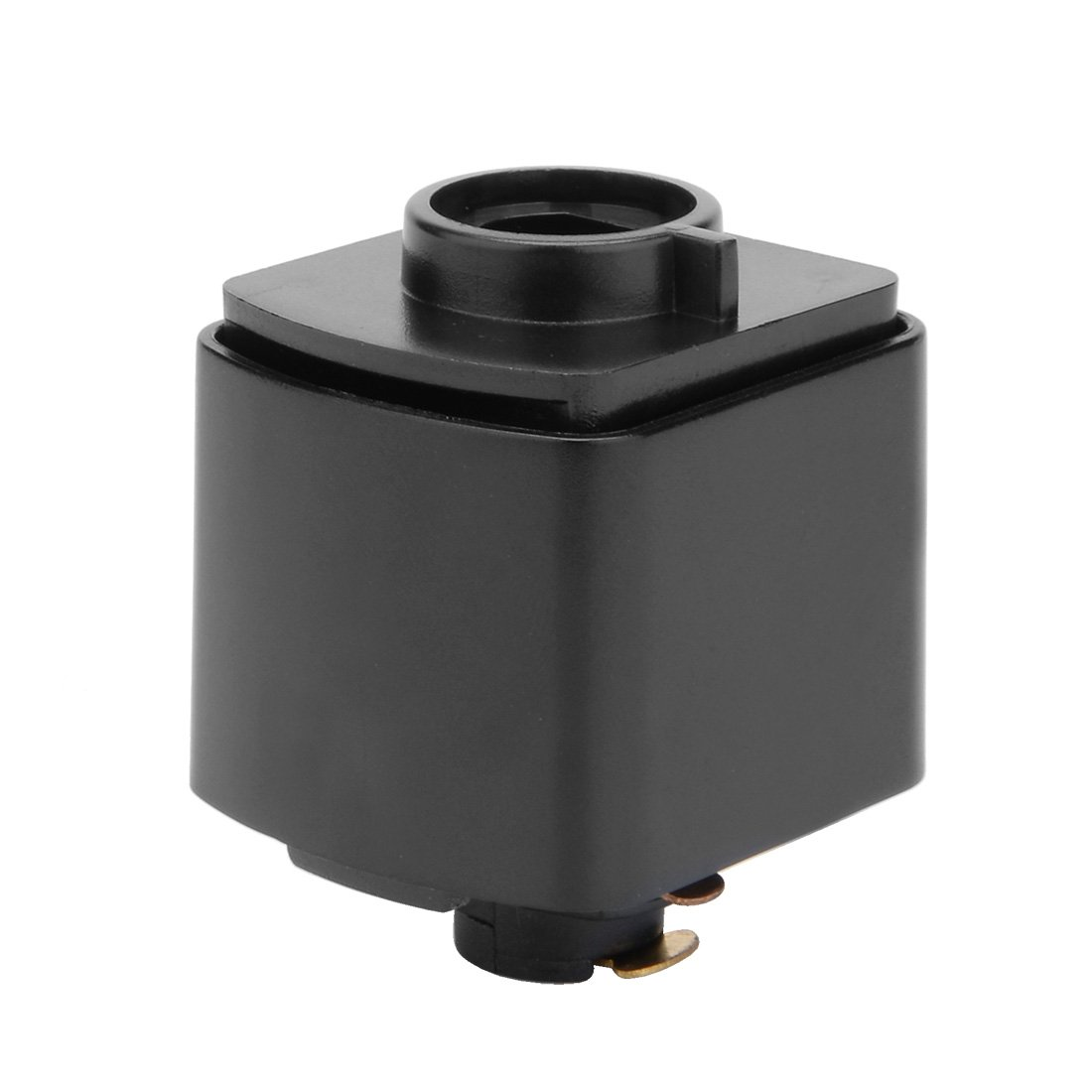 uxcell 3-Wire Track Rail Joint Connector Lighting Fittings GT-306 Black a17053100ux0062