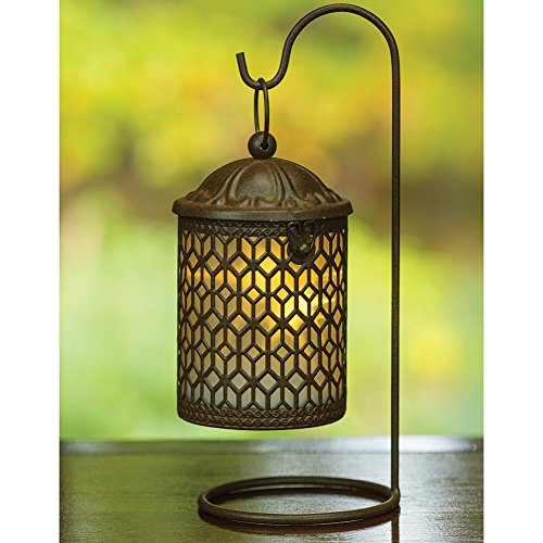 decorative-hanging-metal-lantern-with-led-light-and-stand