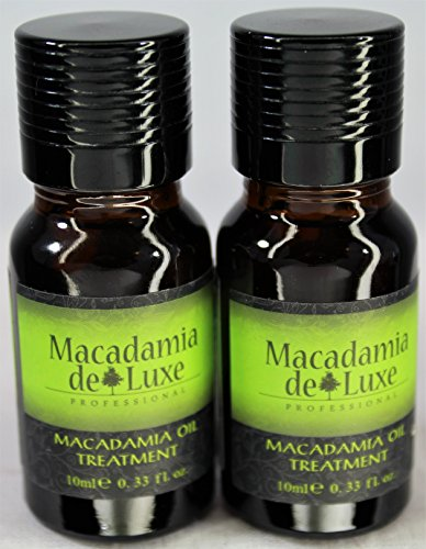 Macadamia Deluxe Oil Pure & Natural Healing Treatment for Hair and Skin Travel Size 2 pack Each Bottle .33 oz(10ml) by Macadamia Deluxe (Image #9)