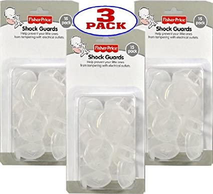Fisher Price Shock Guards Child Safety outlet Covers (45 Count) Size ...