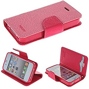iPhone 5C case, iPhone 5C case cover,by Carryberry#001 NEW Leather Wallet Case For iPhone 5C & Credit Card Slots Flip Stand