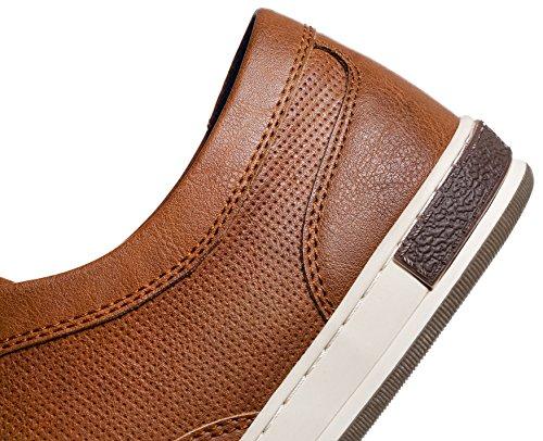 JOUSENBasic Moda Earthen Uomo alla Fashion Uomo Sneaker Sneakers Casual da rA1rPSf