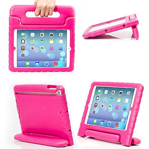 Treatment Case (eTopxizu Shockproof Case Light Weight Kids Case for Apple iPad 4, iPad 3 & iPad 2 2nd 3rd 4th Generation,iPad 2 3 4 Shockproof Case Super Protection Cover Handle Stand Case for Children(Pink))