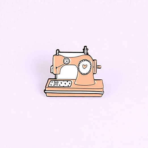 FSAKLFS Dibujos Animados Naranja Máquina De Coser Esmaltes ...