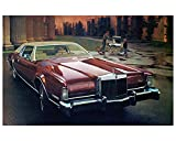 1973 Lincoln Continental Mark IV Factory Photo