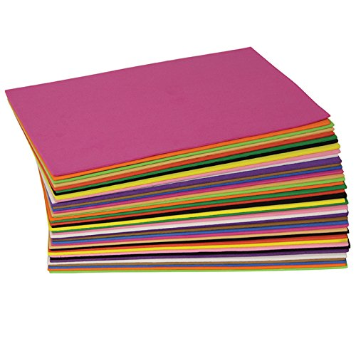 Creativity Street WonderFoam Sheets, Assorted Colors, 5.5