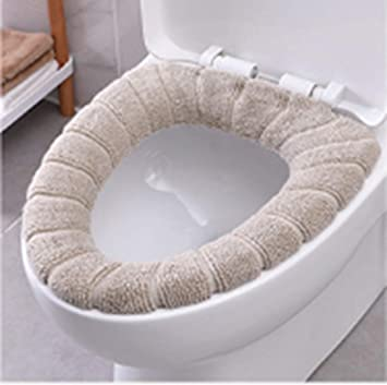 Excellent Amazon Com Uminilife Toilet Lid Cover Washable Bathroom Ibusinesslaw Wood Chair Design Ideas Ibusinesslaworg