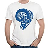 LUCIA St. Louis Rams Alternate Blue Logo T-shirts White For Women's