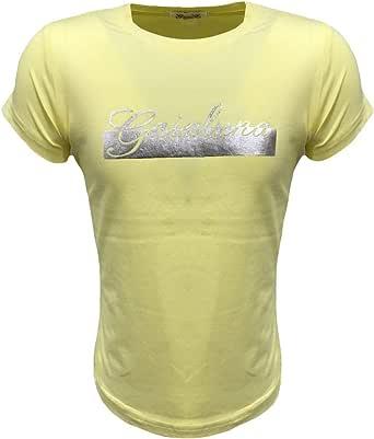 GaiaLuna Camiseta de niña, Amarilla: Amazon.es: Ropa y accesorios