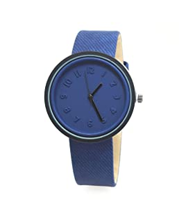 Lady Wrist Watch Fashion Faux Leather Band Round Dial Analog Quartz Student Lover Wrist Watch