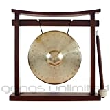 7'' to 8.5'' Gongs on the Pretty Chill Gong Stand
