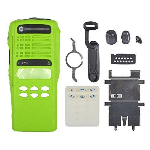 Guanshan Green Replacement Repair Case Housing Cover for Motorola HT1250 Limited-keypad Portable Radio