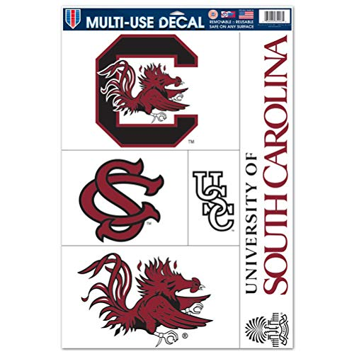 WinCraft South Carolina Gamecocks Ultra Decal Set - 11'' X 17''