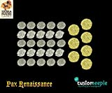 Game Accessories Customeeple Pax Renaissance Deluxe Coins - East