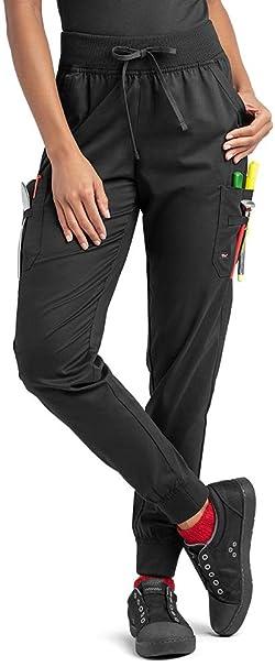 choose original 100% quality discount sale Industry Line Women's Jogger Chef Pant (XS-3X, Black)