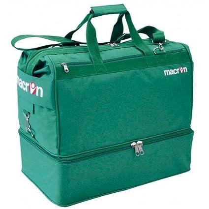 Macron APEX - Bolsa de deporte (fútbol, gimnasio) verde ...