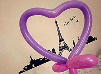 Party Decorations Birthdays Aerfas 260q Balloons,200 Pack Thickening Latex Twisting Modelling Long Magic Balloons for Animal Model,Weddings