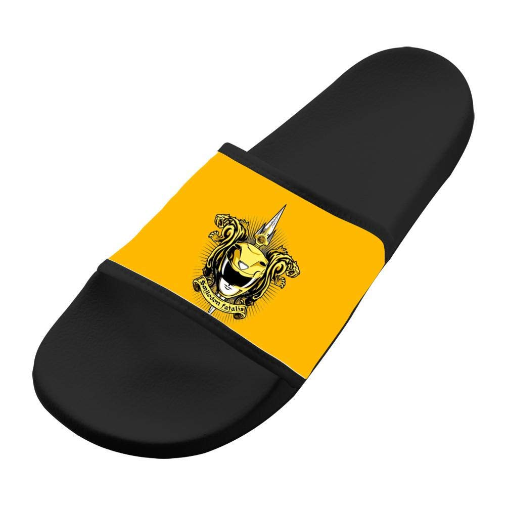 3d0aea0fb70 Amazon.com: Croceus Smilodon Fatalis Collection Yellow indoor & outdoor  Slippers 3D Printed Home Sandals Family Summer Shoes: Clothing
