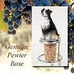 Australian Shepherd Tri-Color Wine Bottle Stopper - DTB99E 4