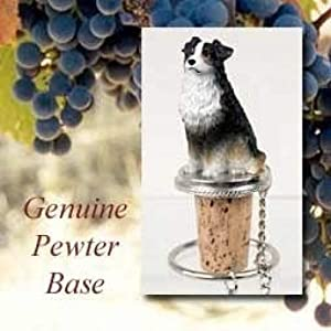 Australian Shepherd Tri-Color Wine Bottle Stopper - DTB99E 22