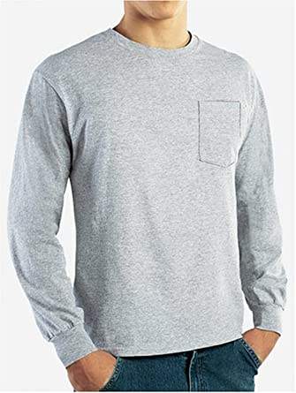 ae9cc607 Dickies Men's XX-Large White 100% Cotton Long Sleeved Pocket T-Shirt-GL407WH  2X – The Home Depot