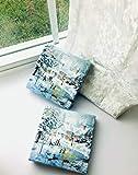 Christmas Napkins Paper Blue   Decorative Napkins