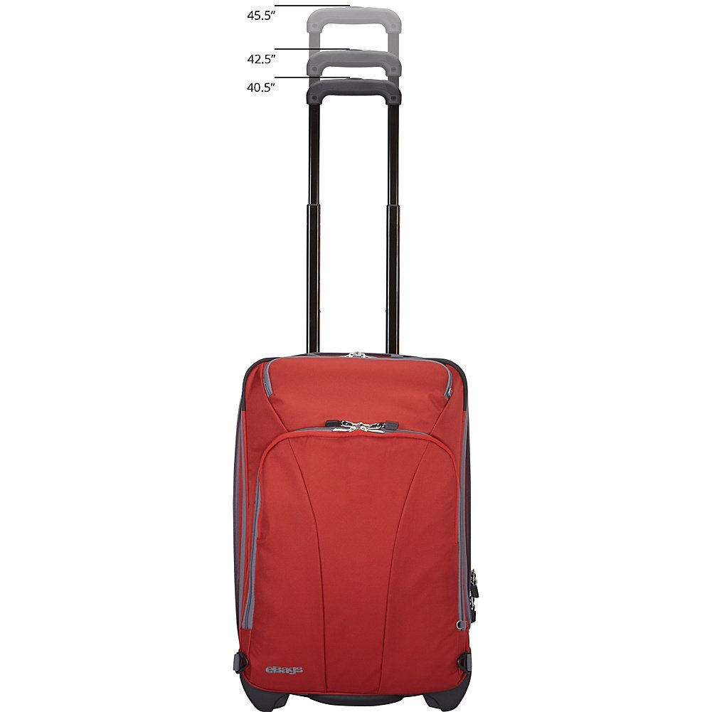 eBags TLS 22 Expandable Wheeled Carry-On (Heathered Graphite)