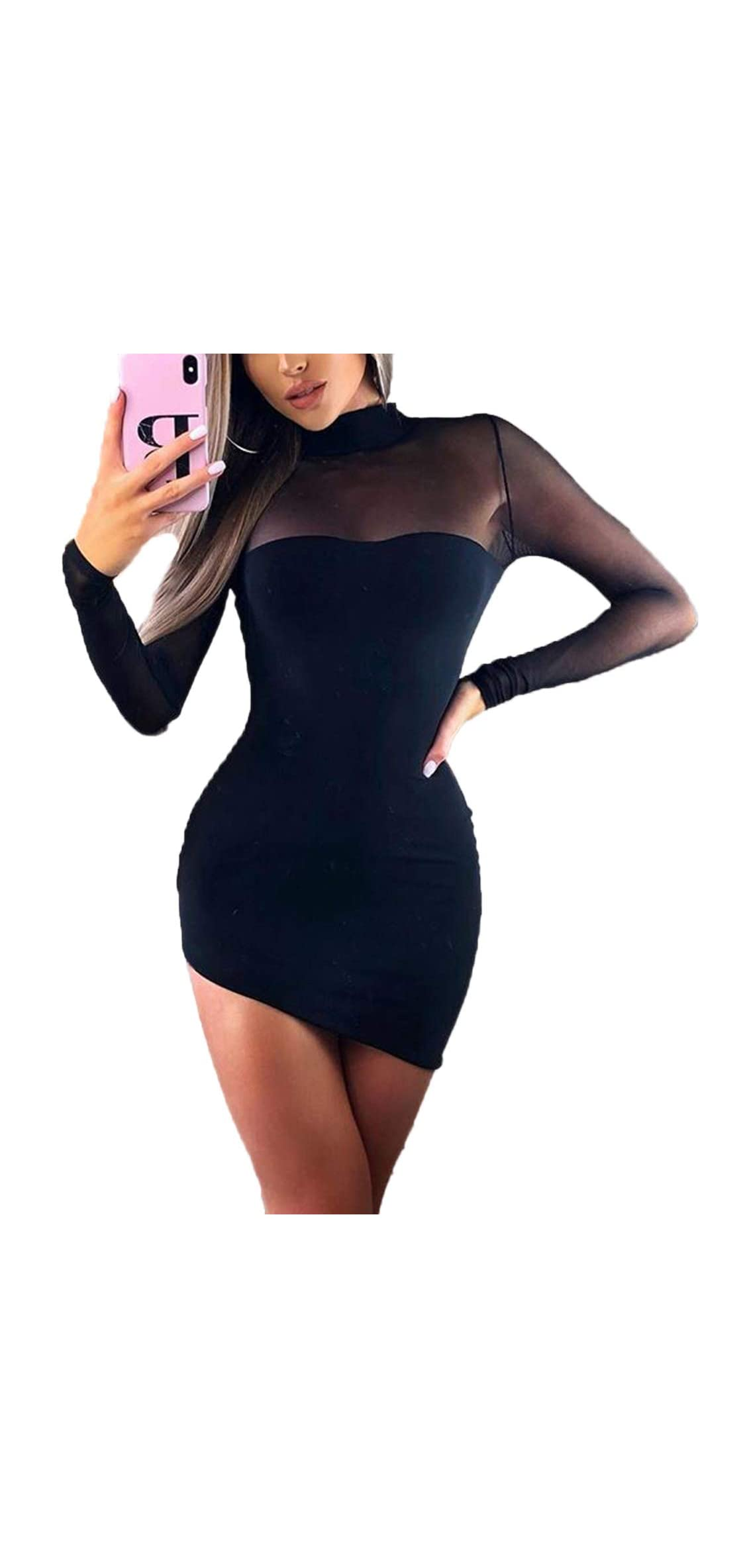 Women's Fashion Cold Shoulder Strappy Short Sleeve Party