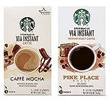 Starbucks VIA Instant Coffee Variety Pack. Starbucks Caffe Mocha...