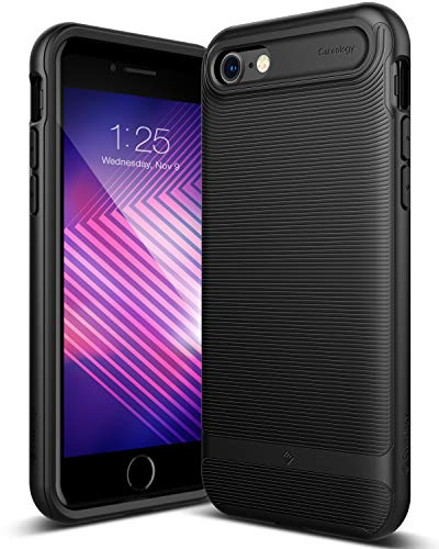 Caseology [Wavelength Series] iPhone 8 / iPhone 7 Case - [Stylish & Protective] - Matte Black