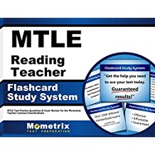 MTLE Reading Teacher Flashcard Study System: MTLE Test Practice Questions & Exam Review for the Minnesota Teacher...