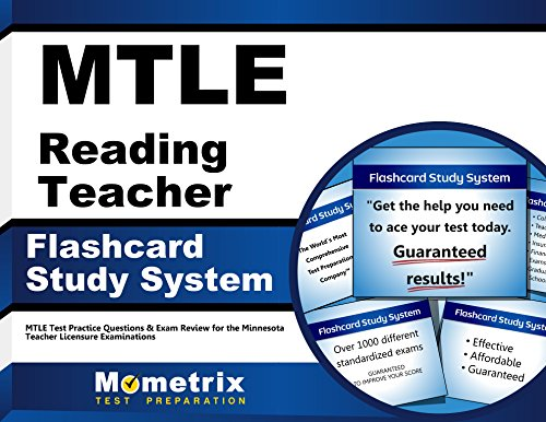 MTLE Reading Teacher Flashcard Study System: MTLE Test Practice Questions & Exam Review for the Minnesota Teacher Licensure Examinations (Cards)