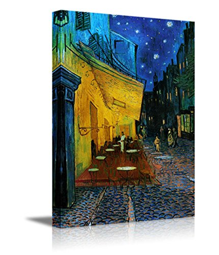 - wall26 - Cafe Terrace at Night Vincent Van Gogh - Canvas Art Wall Decor -24