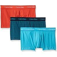 Calvin Klein Men's Underwear Cotton Stretch 3 Pack Low Rise Trunks