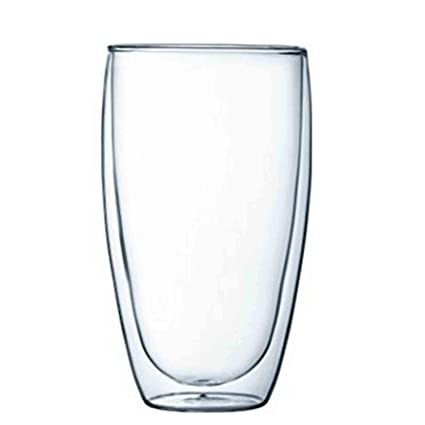 EZ Life Double Wall Tall Cocktail Glasses- 450ml (2 Pieces)
