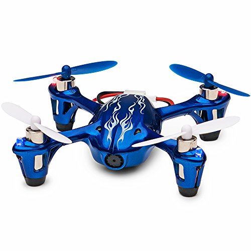 Tekstra Hubsan X4 H107C 720P HD Camera Drone, Beginner Trainer Quadcopter, Cobalt Blue by Tekstra Brands
