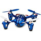 Tekstra Hubsan X4 H107C 720P HD Camera Drone, Beginner Trainer Quadcopter, Cobalt Blue